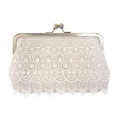 Handmade Silk & Lace Blush Bag by CMeeBridal on Etsy