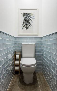 We& assembled a list of functional yet stylish bathroom tiles ideas to help inspire you. The post 7 Unique Bathroom Tiles Ideas (Show Your Personality!) appeared first on Dekoration. Toilette Design, Bathroom Tile Designs, Bathroom Interior Design, Home Interior, Interior Ideas, Wc Decoration, House Decorations, Restroom Decoration, Small Toilet Room