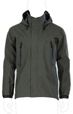 UF PRO® Monsoon Striker Olive Jacket
