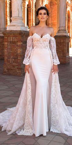 Crystal Design 2017 Wedding Dresses Collection ❤️ See more: http://www.weddingforward.com/crystal-design-2017-wedding-dresses-collection/ #weddings