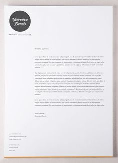 Our tips for cover letter and professional letterhead design (plus real cover letter examples!). Más
