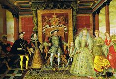The Tudor Dynasty and all it's lovely history! Such an interesting story....