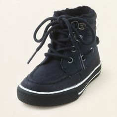 baby boy - outfits - sweater weather - tundra hi-top sneaker | Children's Clothing | Kids Clothes | The Children's Place