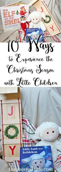 Celebrate and experience both the commercial and religious aspects of the Christmas season with your young children with these 10 activities.