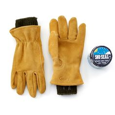 Hestra Army Leather Patrol Gauntlet 5/Dedos Marina
