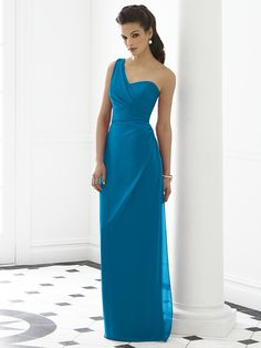 Cerulean bridesmaid
