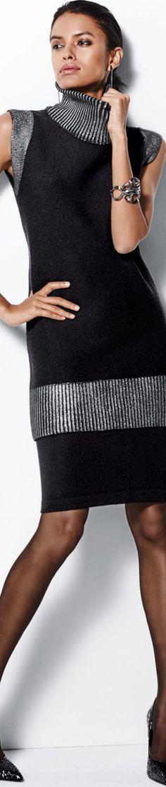 Madeleine Black Skirt and Sweater