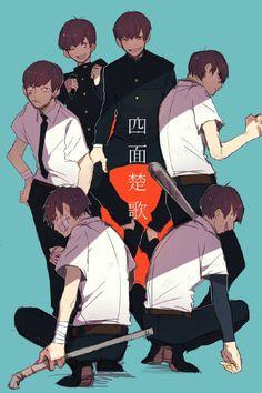Osomatsu-san- Osomatsu, Karamatsu, Choromatsu, Ichimatsu, Jyushimatsu, and…