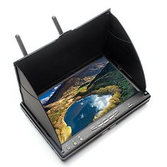 EACHINE LCD5802S FPV Monitor 40CH Raceband 5.8G 7 Inch Diversity Receiver Monitor with Build-in Battery - http://www.midronepro.com/producto/eachine-lcd5802s-fpv-monitor-40ch-raceband-5-8g-7-inch-diversity-receiver-monitor-with-build-in-battery/