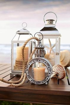 ....seaside candles....