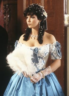 Recycled Movie Costume from North and South. South Fashion, Fashion Tv, North And South, Recycled Costumes, Civil War Movies, Mexican American War, Movie Costumes, Southern Belle, Queen