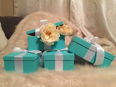 Gift/Shoe Box With Ribbon