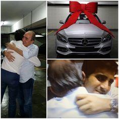 Sérgio K segue tradição de Natal e dá um presente de puro luxo ao pai - Notas - Glamurama