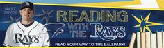 Reading with the Rays will encourage you to read more this summer (2012) and to visit the library regularly before you return to school this fall.