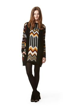 Missoni for Target. Got the dress, and I wear it all the time. Wish I could've found the cardigan/sweater coat too!