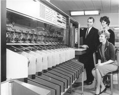 Bank check sorters were the first reading systems - and the first large computer systems!