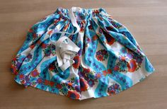 and mama: DIY: Easy Peasy Rectangle Skirt Tutorial Skirt Tutorial, Easy Peasy, Clothing Patterns, Boho Shorts, Barn, Couture, Summer Dresses, Clothes For Women, Sewing