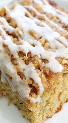 Brown Butter Zucchini Coffee Cake ~ Put your summer zucchini to good use and…
