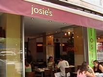 Josie's NYC,  one of my very favorite places to eat when in NYC.  Diary-free and very good.