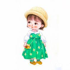 Cute Cartoon Pictures, Cute Cartoon Drawings, Cute Cartoon Girl, Disney Fun Facts, Girl Cartoon Characters, Cute Kids Pics, Baby Icon, Baby Clip Art, Cartoon Background