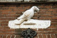 VVAG .. Gevelsteen DE WITTE VALK, Elandsstraat 13 Amsterdam
