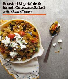 Roasted Veggie CousCous Salad
