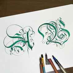 So hard to start, so long to make, so satisfying to finish Calligraphy Drawing, Calligraphy Words, Calligraphy Handwriting, Calligraphy Alphabet, Penmanship, Modern Calligraphy, Typography Alphabet, Alphabet Art, Letter Art