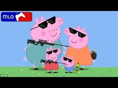 Mlg Peppa Pig Goes to the Funfair - YouTube