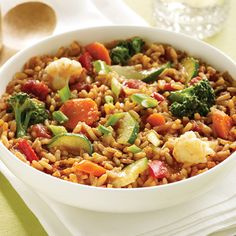 #Vegan Vegetable Jambalaya Recipe: The one-of-a-kind flavors of New Orleans can be enjoyed by all with this quick and easy vegetarian recipe. A medley of fresh vegetables is combined with Zatarain's Jambalaya Mix for a lighter but no less flavorful take on one of the legendary dishes in New Orleans.
