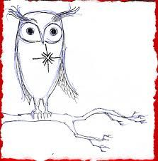 Single Owl Sketch