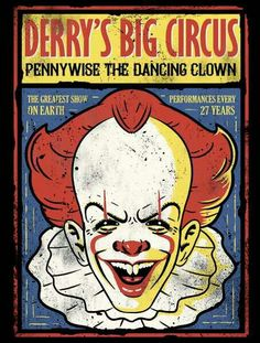PENNYWISE THE DANCING CLOWN - DESIGN 2.