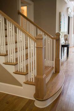 Craftsman Staircase Design