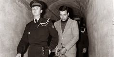 Hamida Djandoubi the last man to be executed by guillotine in France. Convicted of torturing then murdering a 21-year old woman he met recovering from an amputation. (France; September 10 1977)[534 x 267]