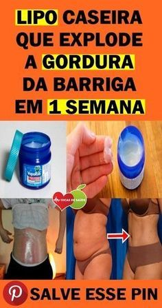 Lipo Caseira Que Promete Queimar Barriga Vira Febre na Internet! Healthy Weight Loss, Weight Loss Tips, Vicks Vaporub Uses, Uses For Vicks, Increase Blood Pressure, Endocannabinoid System, Best Oral, Reduce Belly Fat, Lose Weight Naturally