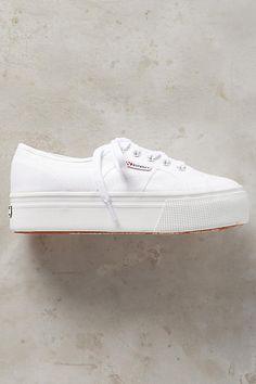 Superga Platform Sneakers - anthropologie.com