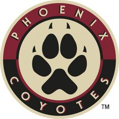 The Arizona Coyotes have been one of the most polarizing teams in NHL history throughout their existence, and their logos are no different. Nhl Logos, Hockey Logos, Sports Logos, Sports Memes, Wall Decor Stickers, Vinyl Decals, Coyotes Hockey, Phoenix Coyotes, Arizona Coyotes