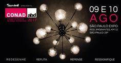 O Congresso Nacional de Designers de Interiores (CONAD) de 2017 acontece nos próximos dias 9 e 10 de agosto no São Paulo Expo. O tema da edição deste ano convida a um esvaziamento para que novos significados venham a tona.