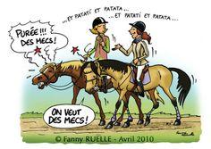 Le cheval et la femme...