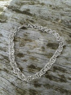 Silver rope chain by butterfly summer.