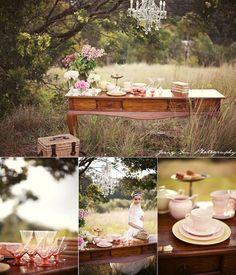 Party Planner / tea party theme