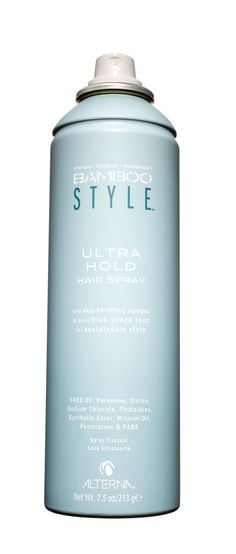 """Alterna Bamboo Style Ultra Hold Hair Spray, $22; amazon.com  Hairstylist Tippi Shorter put this spray through the ringer at an all-day shoot: """"We did eight different hairstyles on my client, and her hair held up without getting stiff or flaky,"""" she marveled."""