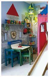kids room - castle walls