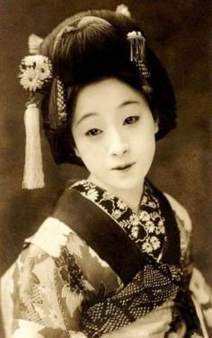 19th Century geisha