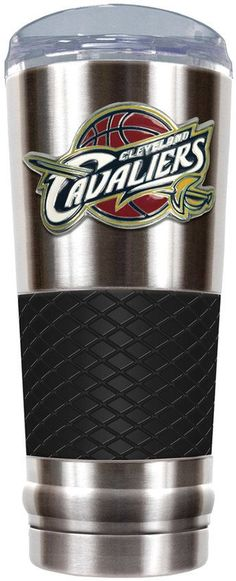 NBA Cleveland Cavaliers 24-Ounce Draft Stainless Steel Tumbler