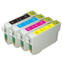 T0711 - T0714 Ink Cartridges Full Ink For Epson Stylus SX210 SX215 SX218 SX115 SX405 SX410 SX415 SX605 D78 DX4000 Printer  EUR 7.45  Meer informatie  http://ift.tt/2rT1cbW #aliexpress