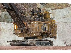 "Cat | 7495 Electric Rope Shovel | Caterpillar Bucket Truck Training www.scissorlift.training ""Train One or Train All"""
