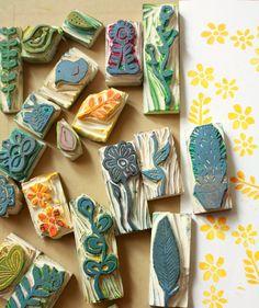 Ishtar Olivera Belart  ideas for stamps to carve