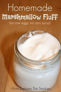 A simple, fun and non-GMO homemade marshmallow fluff recipe DIY.