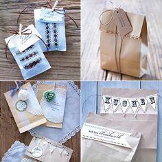 Geschenktüten selber basten -  5 kreative Ideen - geschenktueten-selber-basteln  Rezept