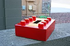 The Pretty Poppy: A Valentine Box for a little boy-- LEGO style - Definitely making for Mason this year!!